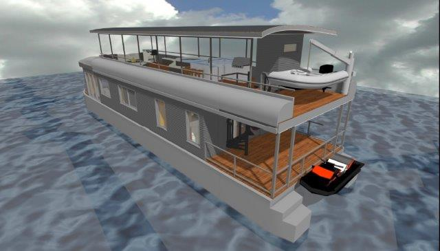 House Boat 75'